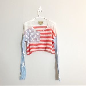 WILDFOX cropped sweater